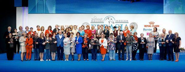 Награждение заслуженных заводчиков на выставке Евразия 2019
