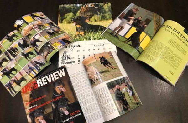 Шикарный календарь и журнал с Днём босерона